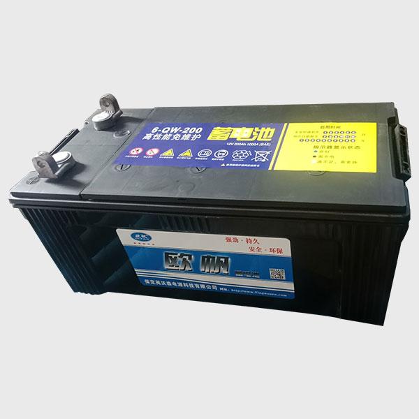 高性能免维护蓄电池6-QW-200