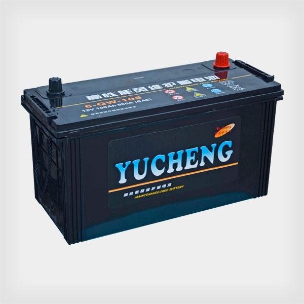 裕程免维护蓄电池6-QW-105