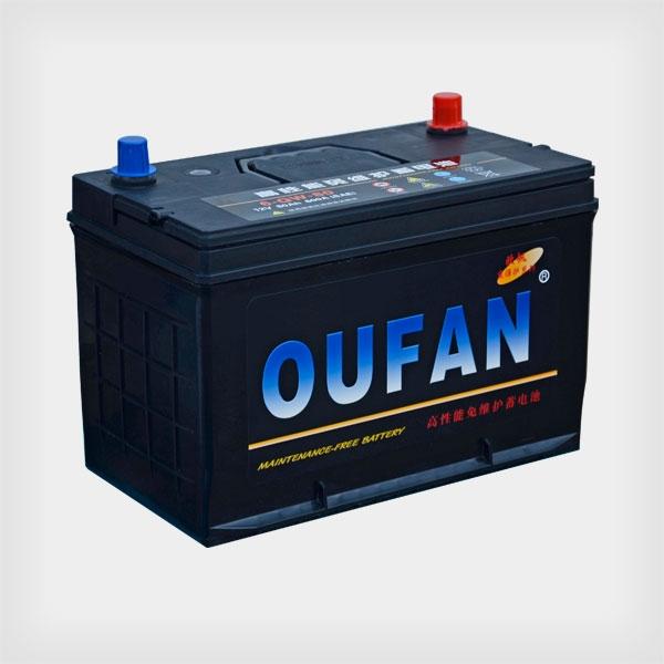 欧帆高性能免维护蓄电池6-QW-80