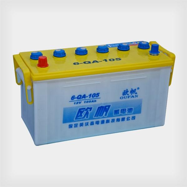 欧帆铅酸蓄电池6-QA-105