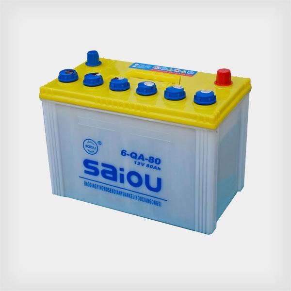 SAIOU铅酸蓄电池6-QA-80