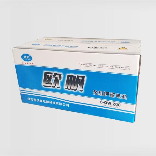 免维护蓄电池6-QW-200