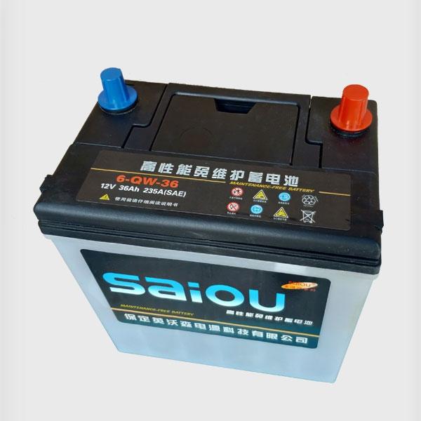 高性能免维护蓄电池6-QW-36