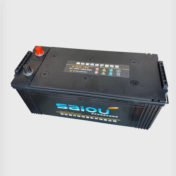 高性能免维护蓄电池6-QW-180