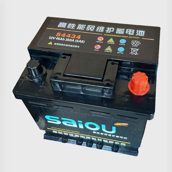 高性能免维护蓄电池54434